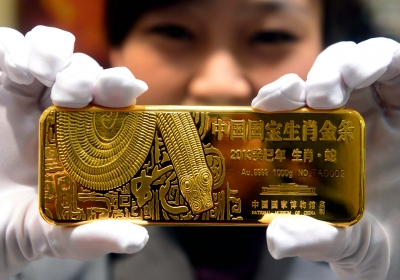 Chinese goudreserves bedroegen eind vorig jaar 12.100 ton
