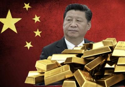 Het oosten koopt fysiek goud, het westen aandelen en crypto-currencies