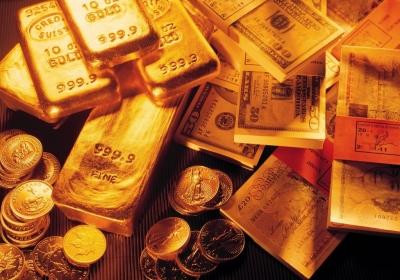 Overgewaardeerde dollar kan come-back goud inluiden