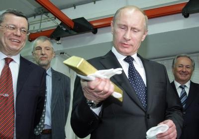 Rusland heeft in september 34 ton goud gekocht
