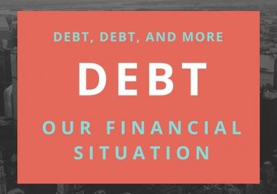 Schulden, schulden en nog eens schulden: het financieel systeem kraakt in zijn voegen