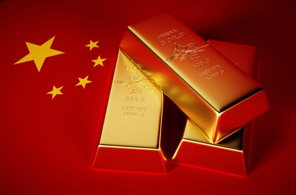 China kan goudprijs richting 10.000 dollar per troy ounce sturen