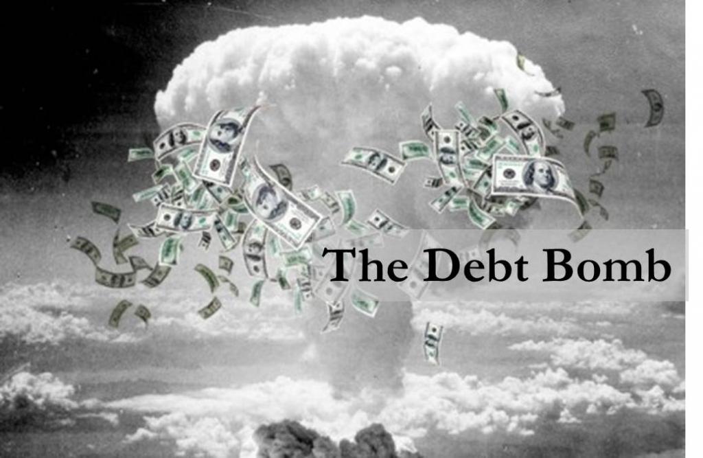 Ontploffing van schuldenzeepbel kan wereldeconomie volledig doen ontsporen
