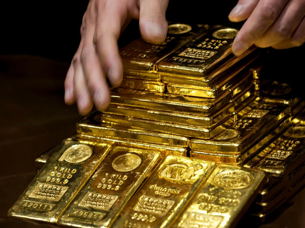 Vergeet Bitcoin en hou de goudprijs in de gaten